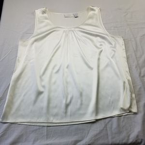 Chico's  Cream  High Low Tank Top